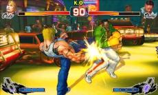 Review Super Street Fighter IV 3D Edition: Dankzij dit nieuwe camerastandpunt wordt er meer dieptezicht in het spel gecreëerd.