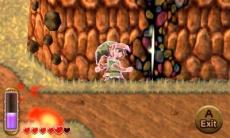 Review The Legend of Zelda: A Link Between Worlds: Via je muurplakkracht kun je in het schaduwrijk van Lorule komen als je door zo'n portaal gaat!