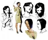 Lena Robins: gespecificeerd in het dealen van wapens met andere bad guys.