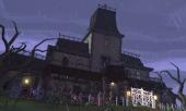 Het Sombere Landhuis is het eerste level. Het is een vrij standaard spookhuis.