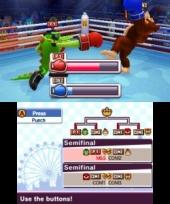 Kies tijdens een minigame als boksen voor een sterk karakter zoals Bowser of Knuckles!