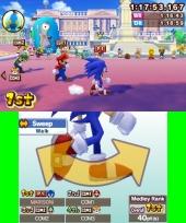De snelle karakters zoals Sonic of Yoshi zijn het beste in de hardloop-minigames!
