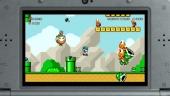 In de Super Mario World-stijl zijn veel nieuwe voorwerpen, zoals de clown car.