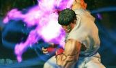 Ryu toont hier even zijn Hadouken, een unieke combo-aanval.