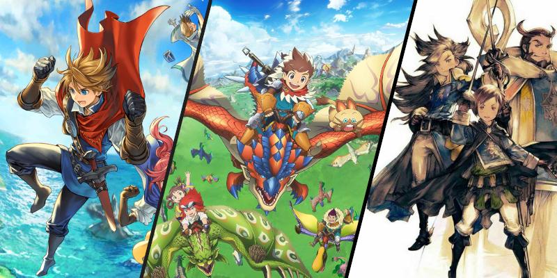 RPG games op 3DS