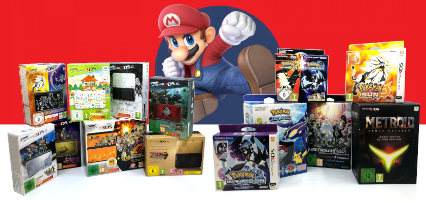 3DS Collectors Editions