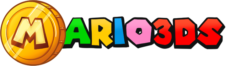 Logo Mario 3DS